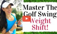 Stop Hanging Back! Train Your Golf Swing Weight Shift – Golf Fitness Tips