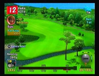 Hot Shots Golf Fore -18 on ADVANCED MODE