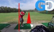 Golf Tips: golf no throw drill for bent right arm and more rotation
