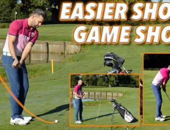 SIMPLE SHORT GAME SHOTS FOR NEW/BEGINNER GOLFERS