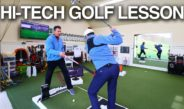 Ultra Hi-Tech Golf Lesson with K-Vest and Swing Catalyst
