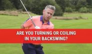 Are You Turning Or Coiling In Your Backswing? – Golf Swing Tips – DWG