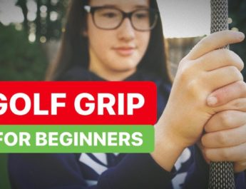 GOLF GRIP FOR BEGINNERS AND ALL GOLFERS