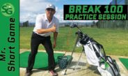 How To Break 100 Golf Practice Session || Golf Tips