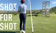 Every shot at Rustic Canyon Golf Course – EAL Course Vlog – Back Nine