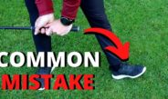 THE MOST COMMON AMATEUR MISTAKE THAT COULD RUIN YOUR GOLF SWING