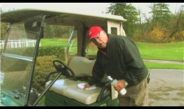 Golf Tips & Etiquette : How to Clean Golf Cart Seats