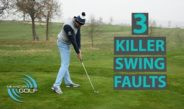 3 BALL STRIKING KILLER SWING FAULTS