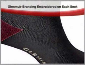 Glenmuir Hislop Ladies Golf Socks (2 pair pack)