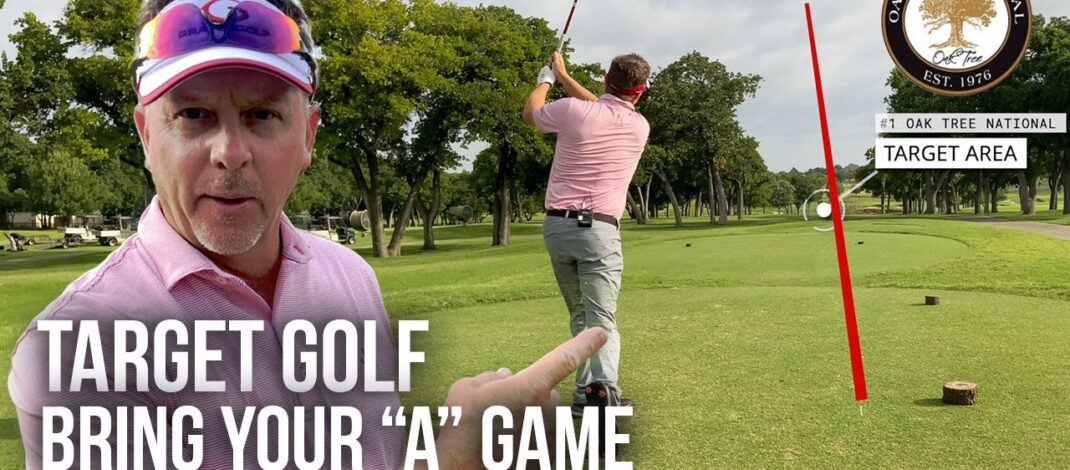 "Taking My Single Plane Golf Swing to a Hard Golf Course – Part 2 / Bring Your ""A"" Game"