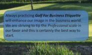 Part 1 – Golf Etiquette.wmv