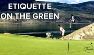 Golf Etiquette On The Green and Bunker For Beginner Golfers