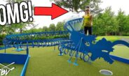 MUST SEE ONE OF A KIND MINI GOLF COURSE! – MINI GOLF HOLE IN ONES AND MORE!