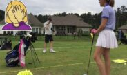 GOLF Tips for kids Driving range and some course etiquette for kids done by kids episode #1