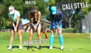 THESE GIRLS CAN PLAY!/ARROWOOD GOLF COURSE
